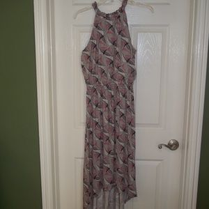 NWT Apt 9 Bird Print Maxi Dress Size S